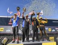 Salinas, Todd, Butner, Arana Jr. winners all at Four-Wide Nat'ls