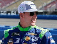 Hemric asked for luck and fans did their part
