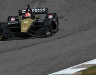 Hinchcliffe sets the pace in second Barber IndyCar practice