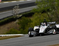 Rahal paces Barber warm-up