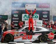 Bell takes the cash in Bristol Xfinity