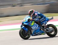 Rins scores first MotoGP win at COTA after Marquez crashes out