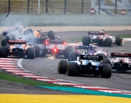 Kvyat seeks out stewards after first lap penalty