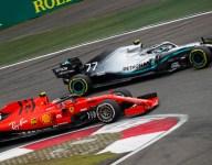 Binotto confident Ferrari in striking range of Mercedes