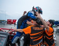 Ortiz makes a statement in MX-5 Cup Race 2 at Barber