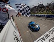 Pumpelly wins GT4 America Sprint at Long Beach