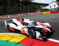 Kobayashi turns up the wick in Spa FP3