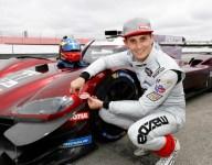 Jarvis' Mazda edges Penske Acuras for Mid-Ohio pole