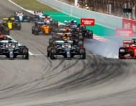 Vettel says first-corner bid cost him a podium