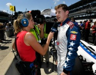 The Day At Indy, May 19, with Kyle Kaiser, Elton Julian and Ben Hanley