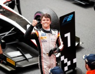 De Vries extends F2 title lead with decisive Monaco Race 1 win