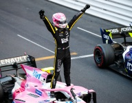Rookie Hubert wins Monaco F2 sprint race in a photo finish