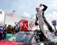 Reddick stays off the wall for Xfinity win at Charlotte