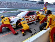 Logano a fighting second thanks to never-quit crew