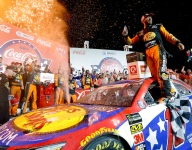 Truex Jr. rallies for dramatic Charlotte 600 victory