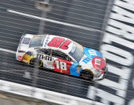 Kyle Busch still chasing the sweet spot in the No.18