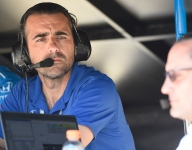 The Day at Indy, May 16, with Dario Franchitti, Elton Julian, and James Davison