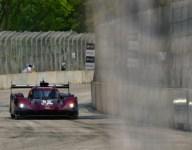 Mazda qualifies third in Detroit