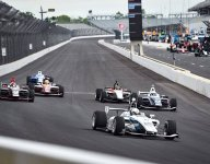 Megennis fastest as Indy Lights drivers prep for Freedom 100