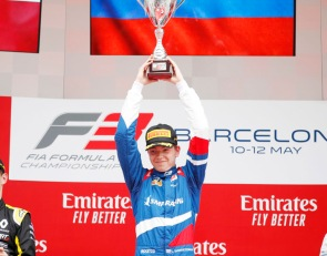 Shwartzman wins first FIA F3 race after penalty