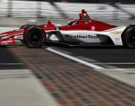 Jones delivers the double in Thursday Indy 500 practice