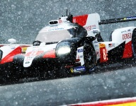 Rain, hail and snow can't stop No. 8 Toyota at Spa