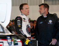 Pocono late fade too typical of his season, Harvick says