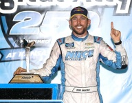 Chastain changes course, declares for the Truck Series