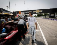 Mazda paces Detroit warm-up