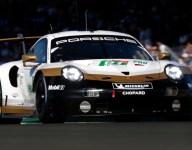 GTE Pro Porsche, Corvette represent as scrutineering begins
