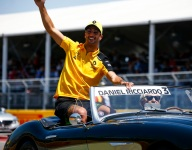 Ricciardo admits relief after stressful Renault start