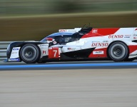 No. 7 Toyota tops opening Le Mans qualifying - then crashes