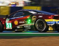LM24 Hour 13: Still Ferrari vs. Porsche in GTE Pro
