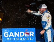 Chastain earns redemption in thrilling Gateway Trucks finish