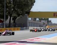 Hubert dominates F2 sprint race