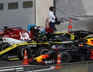 Ricciardo hit with two penalties for final lap