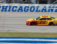 Fords on top in final Cup practice