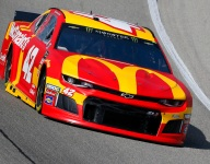 Larson misses out in another entertaining Chicagoland finish