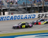 Seven-time Cup Series champ Johnson back in the mix