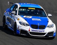 Evans flag to flag in TC Race 2 at Sonoma