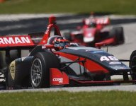 Norman romps to victory in Road America Indy Lights Race 1