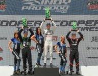 Indy Pro 2000 Race 1 winner Kirkwood keeps the streak alive
