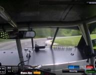In car: Merrill's winning Trans Am lap at Lime Rock