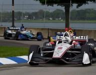 Newgarden bests Rossi in Detroit Race 1