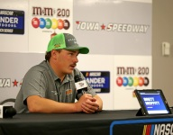 Moffitt declared Iowa Trucks winner after Chastain DQ'd