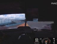 Mazda RT24-P Watkins Glen pole-winning in-car lap