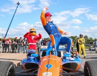 Dixon and Ganassi think their way to the front in Detroit Race 2