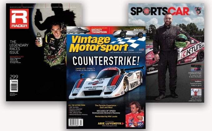 Racer Media & Marketing, Inc. acquires Vintage Motorsport