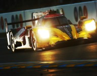 Goodyear vs Michelin tire war headlines LMP2 running in Barcelona
