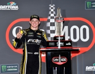 Lightning strikes in Daytona for first-time Cup winner Haley
